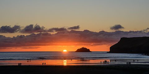 Polzeath sunset